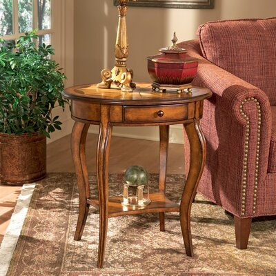 Masterpiece Oval End Table by Butler