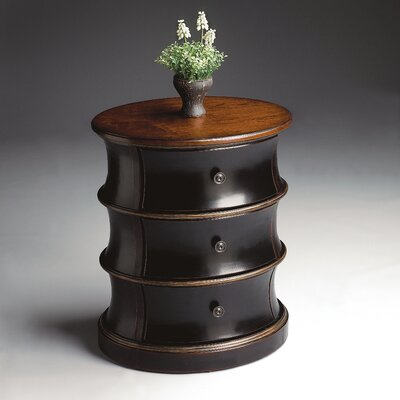 Artist's Originals Oval Drum End Table by Butler