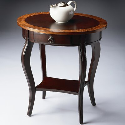 Cherry Nouveau Oval End Table by Butler
