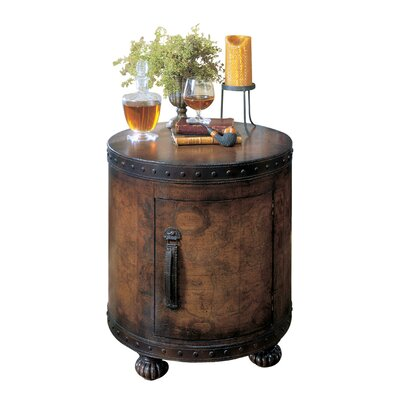 Butler Heritage Old World Map End Table