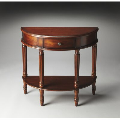 Masterpiece Mozart Demilune Console Table by Butler
