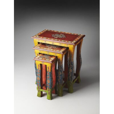 Artifacts Sasha 3 Piece Nesting Tables by Butler