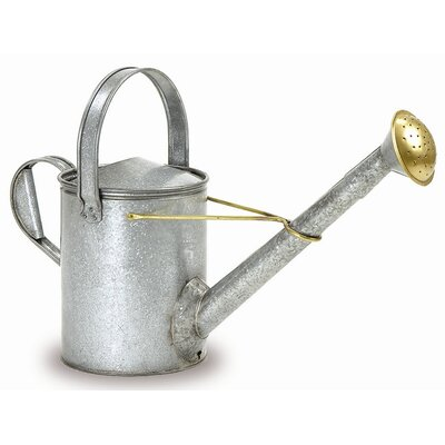 ACHLA Galvanized 1.5-Gallon Long Necked Watering Can