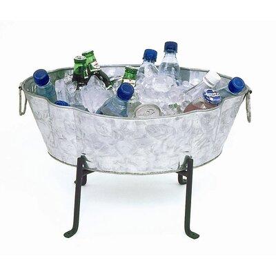 ACHLA Embossed Steel Beverage Tub