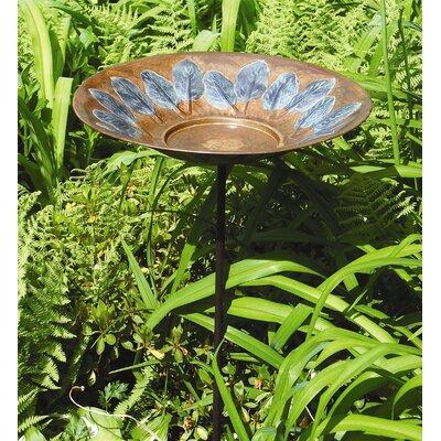 ACHLA Large Leaf Birdbath