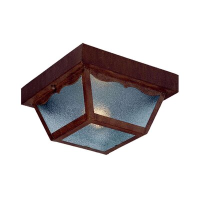 Builder's Choice 1 Light Flush Mount Product Photo