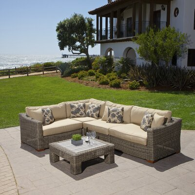 RST Brands Resort Collection 5 Piece Deep Seating Group