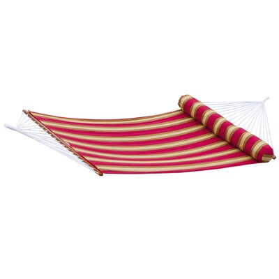 Deco Striped Quilted Hammock with Bolster Pillow by RST Brands Outdoor