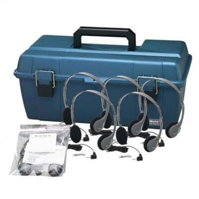 Hamilton Electronics Personal Headset Lab Pack with Carry Case