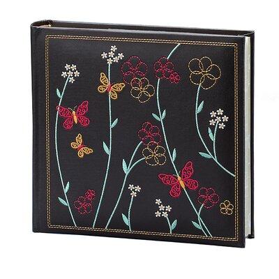 Raven Floral Vine Picture Album by Fetco Home Decor
