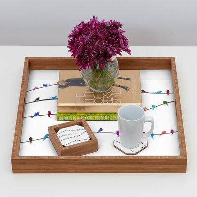 DENY Designs Belle 13 Happy Spring Coaster