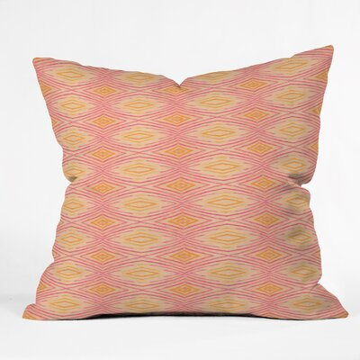 Cori Dantini Ikat 4 Throw Pillow by DENY Designs
