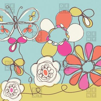 DENY Designs Rachael Taylor Fun Floral Shower Curtain