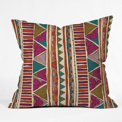 DENY Designs Valentina Ramos Ethnic Stripes Indoor/Outdoor Throw Pillow