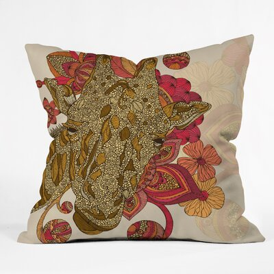 DENY Designs Valentina Ramos the Giraffe Throw Pillow