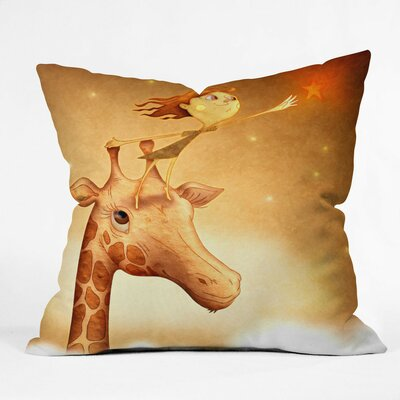 Jose Luis Guerrero Throw Pillow by DENY Designs