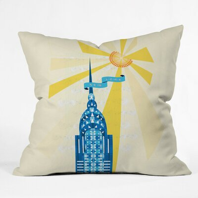 Jennifer Hill Throw Pillow by DENY Designs