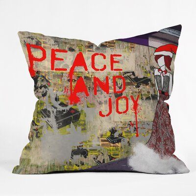 Amy Smith Urban Holiday Throw Pillow by DENY Designs