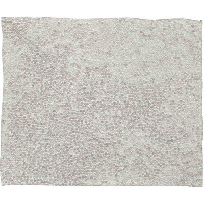 Social Proper Snowballs Plush Fleece Throw Blanket by DENY Designs