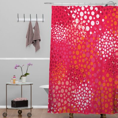 DENY Designs Khristian A Howell Brady Dots 2 Shower Curtain