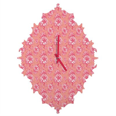 Caroline Okun Artichoktica Wall Clock by DENY Designs