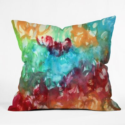 Constant Motion by Laura Trevey Throw Pillow by DENY Designs