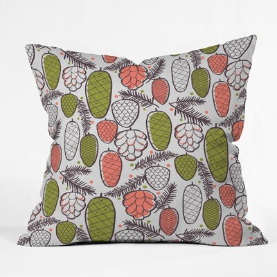 Zoe Wodarz Pine Cottage Retro Polyester Throw Pillow by DENY Designs