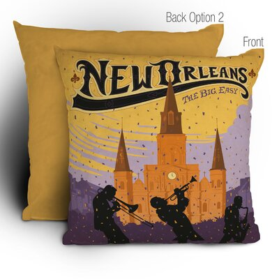 DENY Designs Anderson Design Group New Orleans Throw Pillow