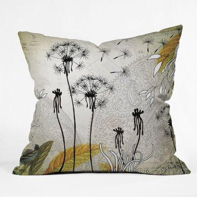 DENY Designs Iveta Abolina Little Dandelion Throw Pillow