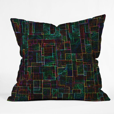 DENY Designs Jacqueline Maldonado Matrix Indoor/Outdoor Throw Pillow