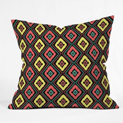 Jacqueline Maldonado Zig Zag Ikat Throw Pillow by DENY Designs