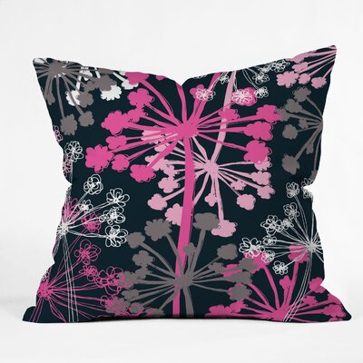DENY Designs Rachael Taylor Cow Parsley Indoor/Outdoor Throw Pillow