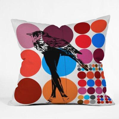 DENY Designs Randi Antonsen Poster Heroins 5 Throw Pillow