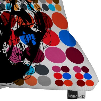 DENY Designs Randi Antonsen Poster Heroins 6 Throw Pillow