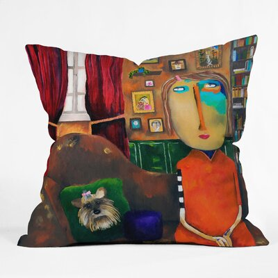 DENY Designs Robin Faye Gates Throw Pillow