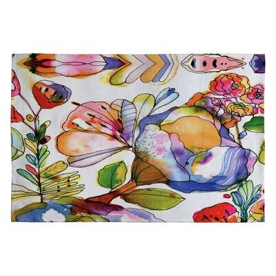 DENY Designs Cayenablanca Blossom Pastel Novelty Rug