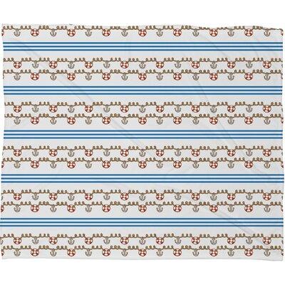 DENY Designs Jennifer Denty Anchor Small Throw Blanket