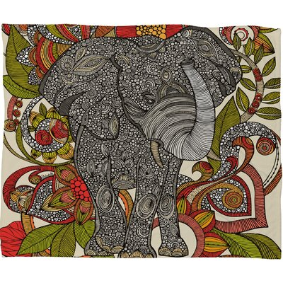 DENY Designs Valentina Ramos Bo The Elephant Throw Blanket