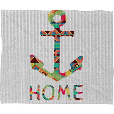 DENY Designs Bianca Green You Make Me Home Throw Blanket