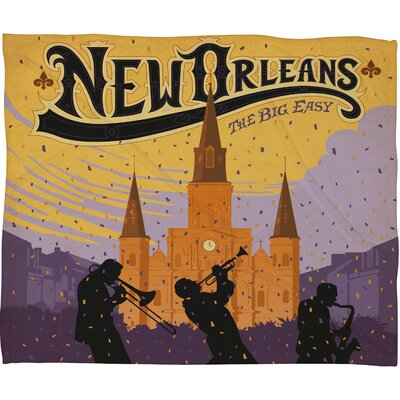DENY Designs Anderson Design Group New Orleans 1 Throw Blanket