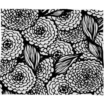 Julia Da Rocha Bouquet of Flowers Love Throw Blanket by DENY Designs