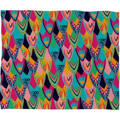 DENY Designs Vy La Love Birds 1 Throw Blanket
