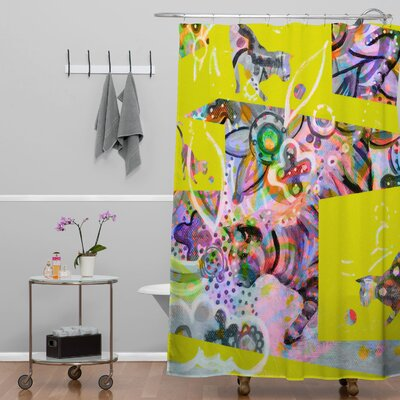 DENY Designs Randi Antonsen Cats 4 Shower Curtain