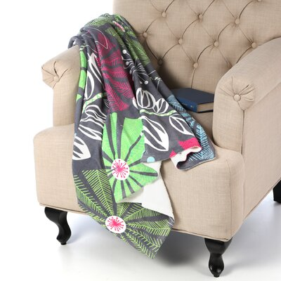 DENY Designs Khristian A Howell Cape Town Blooms Throw Blanket