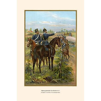 'Schleswig-Holstein Military Train 9Th Battalion' by G. Arnold Wall Art by Buyenlarge
