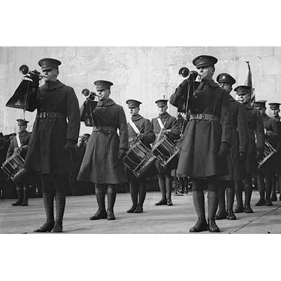 'Ceremonial Military Bugle Ensemble' Photographic Print by Buyenlarge