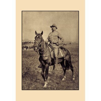 Buyenlarge Colonel Roosevelt of the Rough Riders Photographic Print on Wrapped Canvas