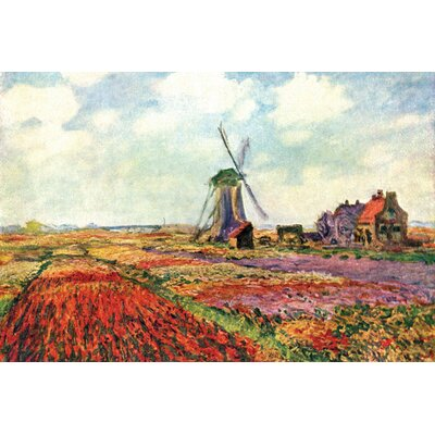 Buyenlarge Tulips of Holland Painting Print on Wrapped Canvas