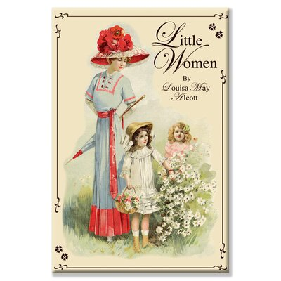 Buyenlarge Little Women by Louisa May Alcott Vintage Advertisement on Wrapped Canvas