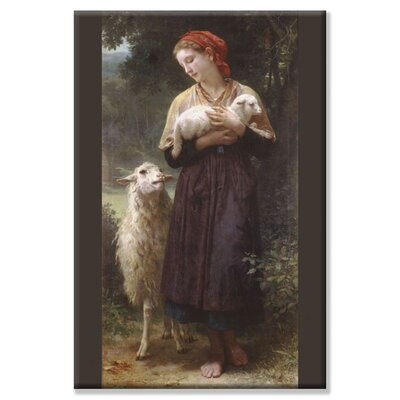 Buyenlarge The Newborn Lamb by William Adolphe Bouguereau Painting Print on Wrapped Canvas